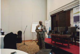 "Prof Mwangi presented a paper titled ""Value Chain Approach to Skills Audit for Planning in Urbanization Sector, Rwanda"""